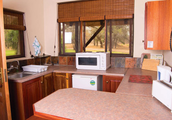 Giraffe Camp Kitchenette