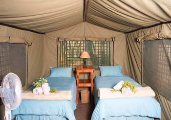 Nyati Pools Tent Inside