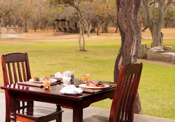 Giraffe Camp Breakfast
